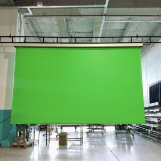 We are so proud for you chose us @levent_yldrm_tac_perde ✨🎉 Greenbox 500x300 Cm Rf Motorized Green Screen ⭐